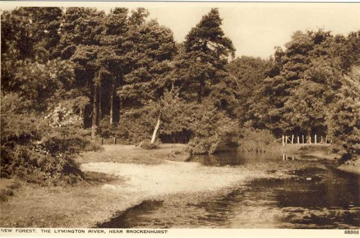 The Lymington River, near Brockenhurst