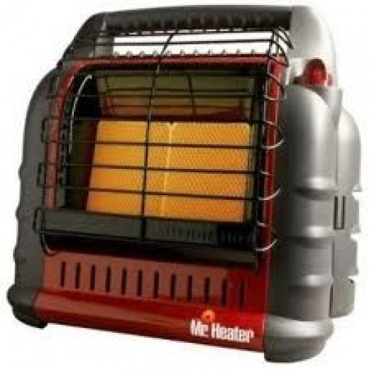 Mr. Heater non-electric space heater.