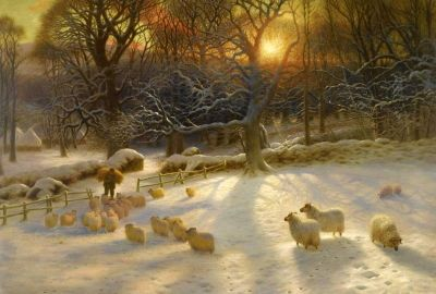 While Watching Sheep