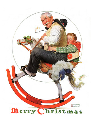 During holidays, Rockwell illustrations were distributed throughout the USA on magazine covers. Important celebrations took on a distinctly American look and feeling.