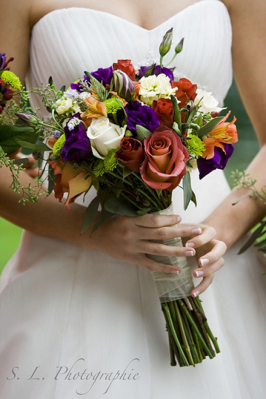 Choose The Right Flowers For Your Wedding Month