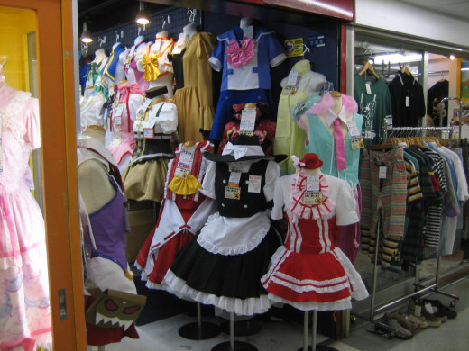 Japanese Cosplay Shop