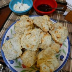 "Quick and Easy Scone Recipe with a ""Fun"" Option for Making with Kids - Picture Tutorial"