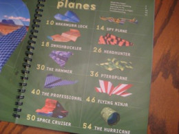 This is a list of the paper airplanes included in the book. You'll find interesting designs of every skill and age level, but everyone will love 'em.