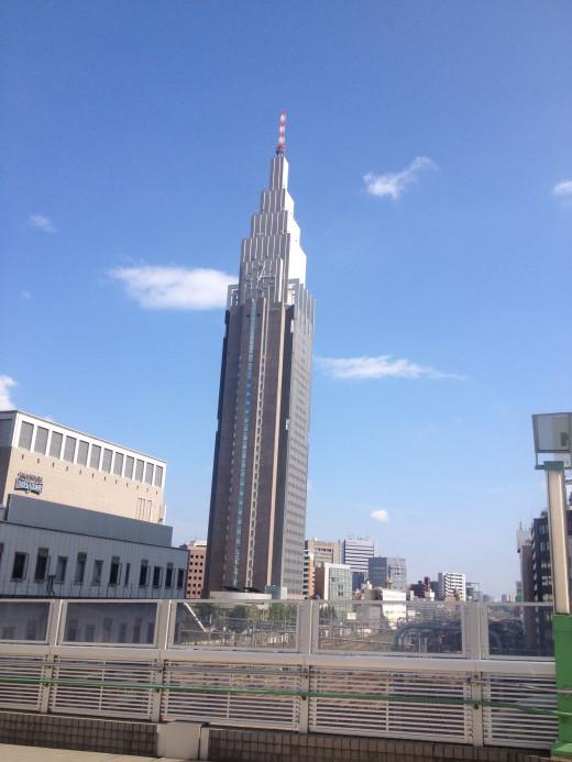 My arrival in Shinjuku on my trip to Japan (1 year later) * Picture taken by me in Shinjuku, Japan