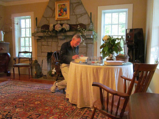 Wonderful Book Signing Event at Boxwood Manor in Pendleton, SC