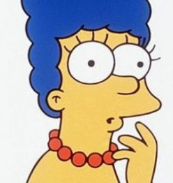 Marge Simpson should not pose for Playboy