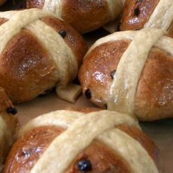Hot Cross Buns. One a penny, two a penny
