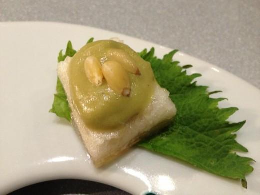 Shiso Seeds, Zeti Cake, Shiso Leaf.