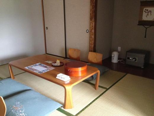 A separate tatami mat room.