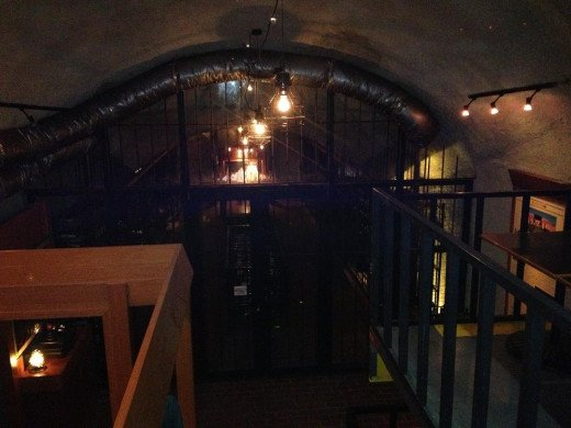 The Wine Cellar - Downstairs.