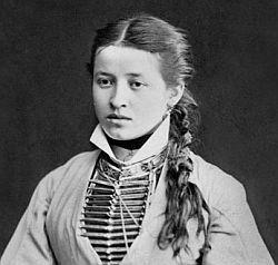 Ossetian (Samartian) Woman 1883