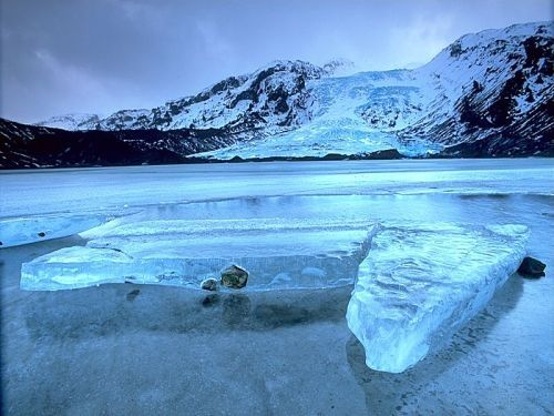Eyjafjallajokull glacier