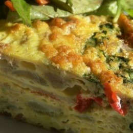 make the basic frittata then add style here s a basic easy frittata ...