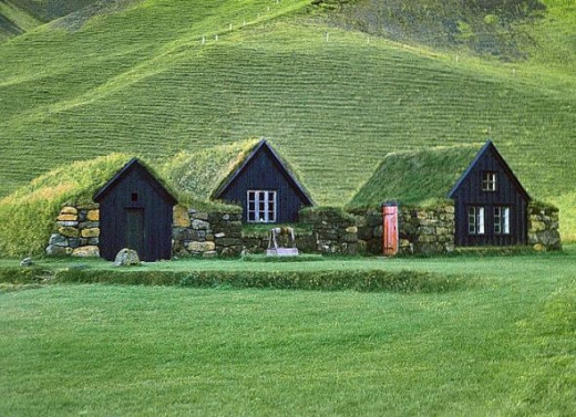 Traditional Turf home