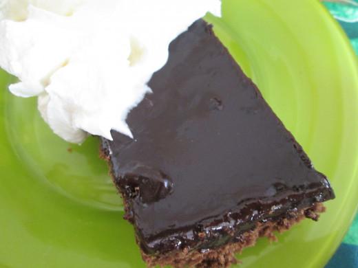 buckwheat fudge cake