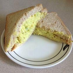 Turkey salad sandwich.