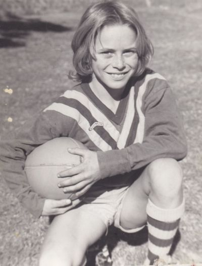 He was a great little footballer