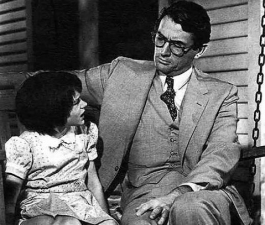 Greg Peck as Atticus Finch is, IMHO, the epitome of sexy.