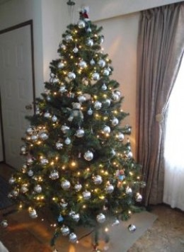 Putting up a Christmas tree can help you get in the seasonal spirit.