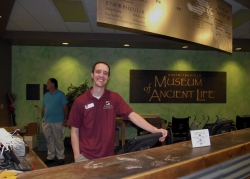 Our tour greeter at the museum.