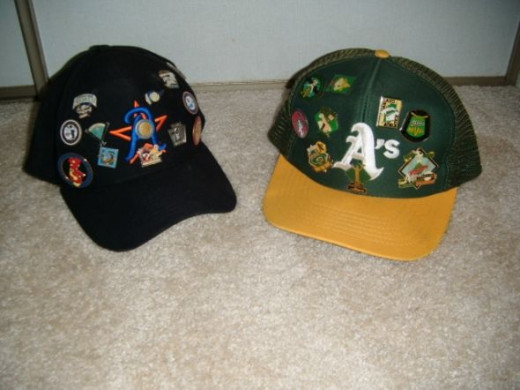 These two hats held a lifetime of memories.