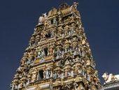 Hindu temple in the heart of Kuala Lumpur