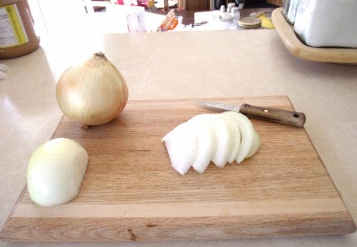 Onions and garlic are sulfur rich foods. Wonderful for detox.