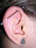 Having Your Ears Pierced As A Fashion Trend