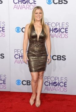 Alison Sweeney People's Choice Awards 2013 hair by Matthew Holman
