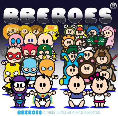 """Carefully designed with cute and trendy elements. The pronunciation of BBEROES is like """" heroes """", but instead of """" he """", it is pronounced as """" b """"-roses. BBEROES is an original brand that is inspired by the conception of all beings is eligible to be"""