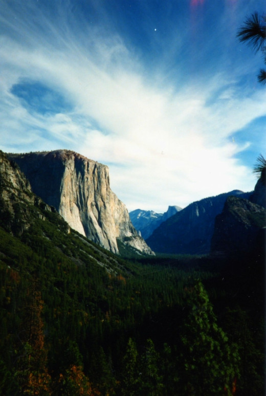 The entrance to Yosemite Valley copyrighted by Melody Lassalle