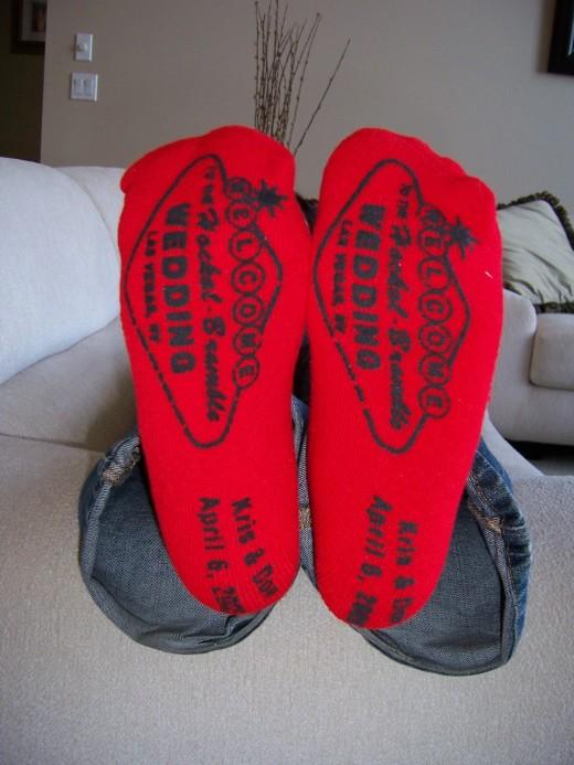 Wedding Grippy Socks