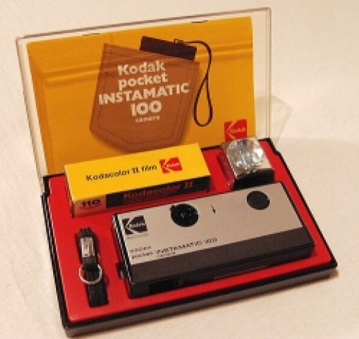 The Kodak Instamatic always came in a little kit like this.