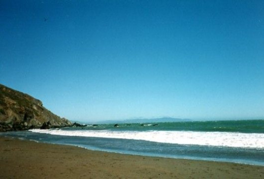 Beach near Muir Woods
