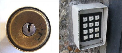 Which door lock is safer?