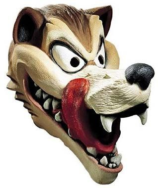 The hungry wolf disguise mask