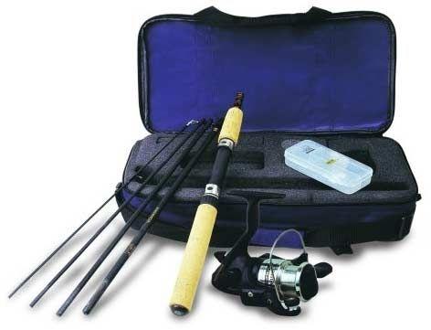Fishing rod travel gift kit