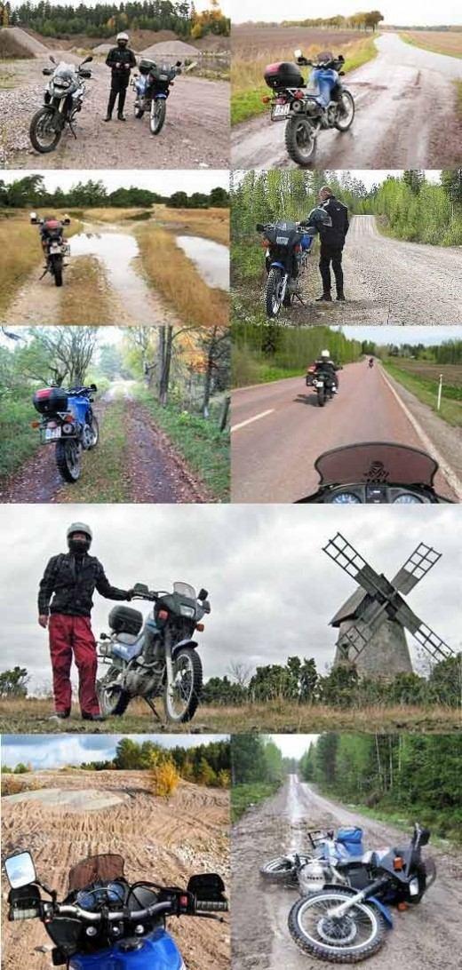 motorcycle trips with rat bike