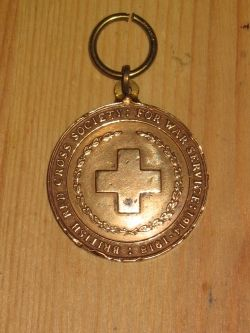 British Red Cross War Service Medal