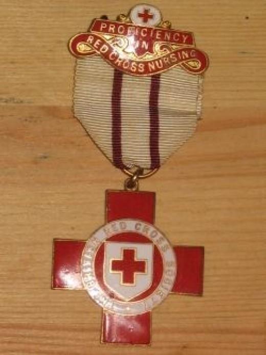 Proficiency in Red Cross Nursing Medal
