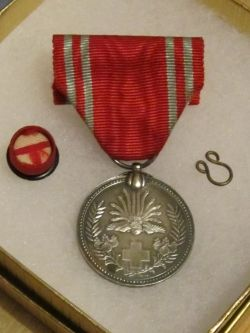 WW2 Era Japanese Red Cross Members' Medal
