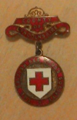 British Red Cross County of Lincolnshire Badge