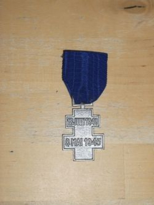 Free French Voluntary Service Medal