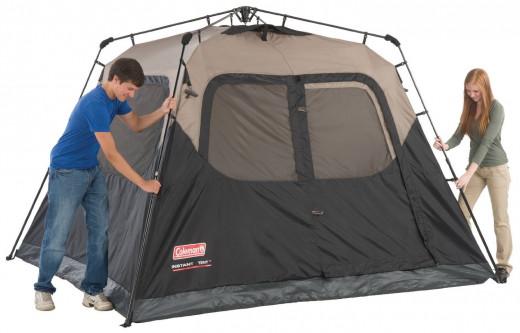 Easy setup tent