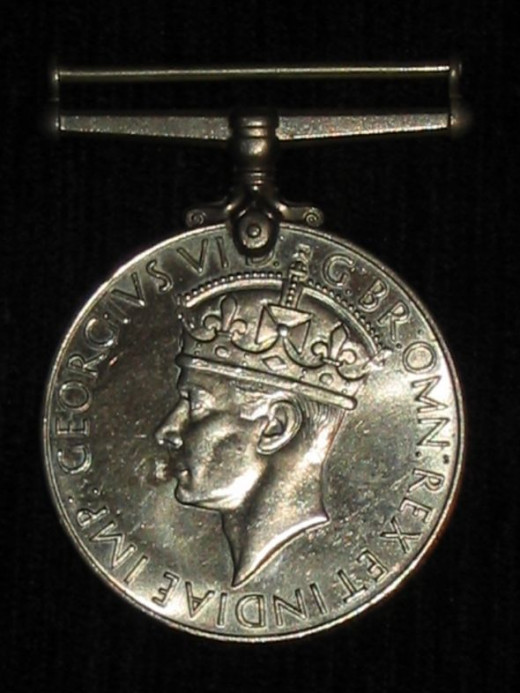 British 1939-45 War Medal - obverse