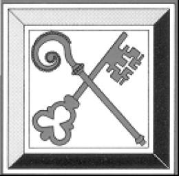 The badge of the Catholic League