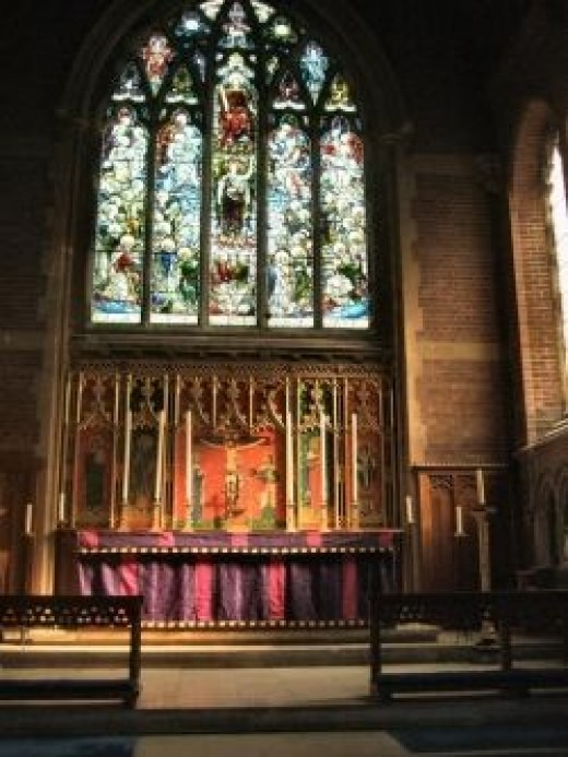 Anglo-Catholic shrine Church, St Barnabas Brighton