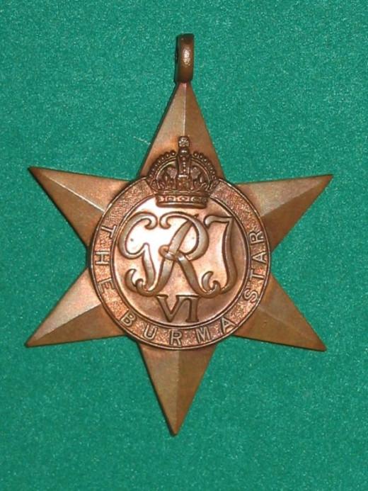 Burma Star - UK