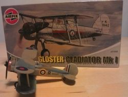 "Airfix 1:72 Mk1 Sea Gladiator ""Charity"""